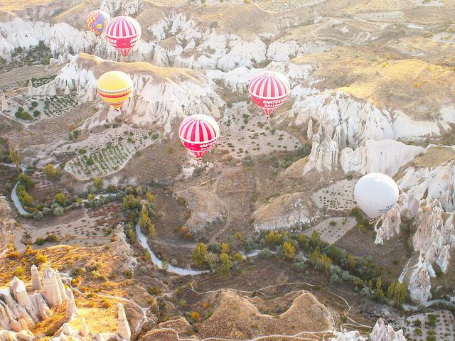 Турция воздушные шары