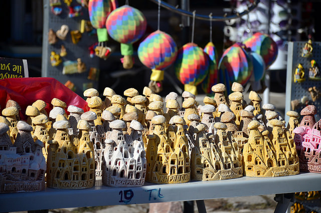 Воздушные шары над парком турция