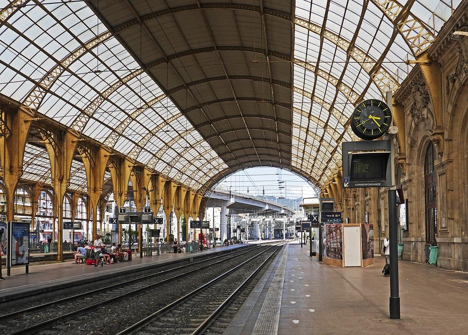 Центральный вокзал, Ницца